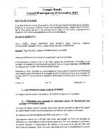 COMPTE RENDU CM DU 29.11.2019