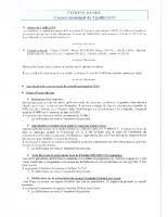 CONSEIL MUNICIPAL DU 08.02.2019