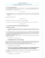 conseil municipal du 30 novembre 2018