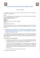 COMPTE RENDU CM 17 décembre 2020