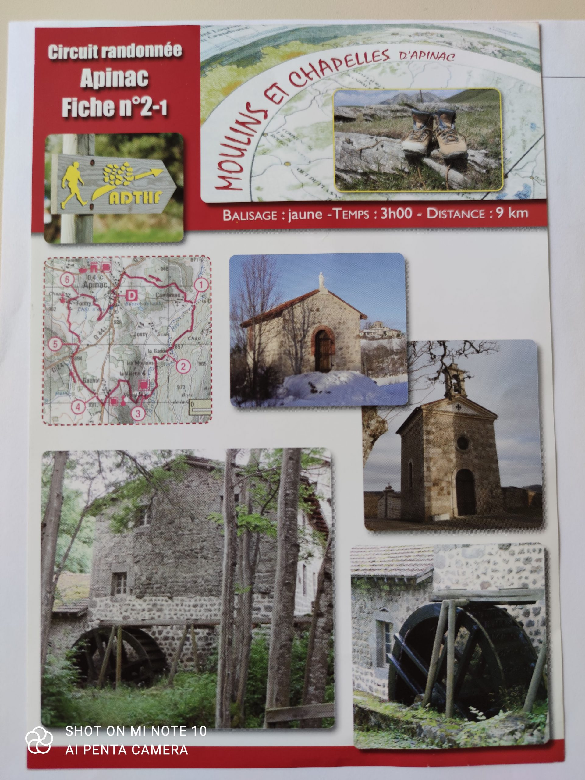 sentier moulins et chapelles